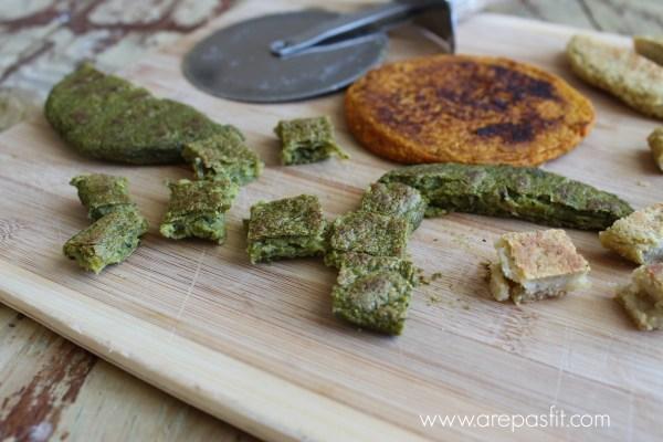 Croutons de Arepas Fit para las Ensaladas | arepasfit.com