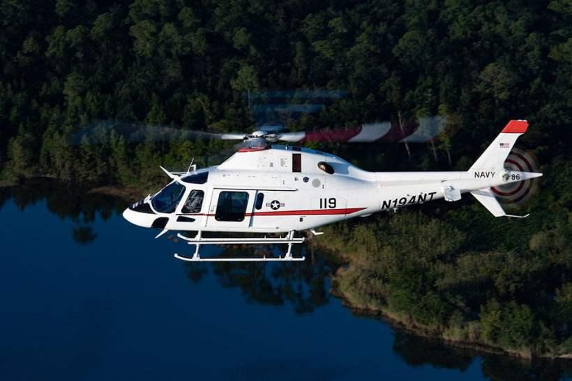TH-119 proposto da Leonardo per il concorso US Navy relativo il nuovo elicottero d'addestramento