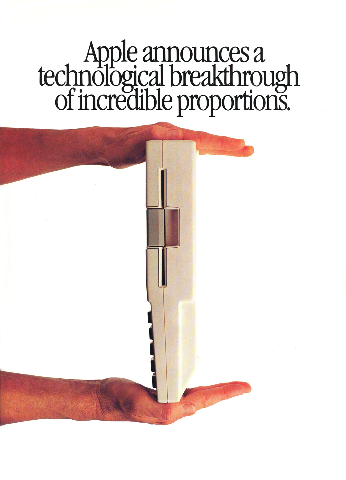 apple announces a technological breakthrough of incredible proportion