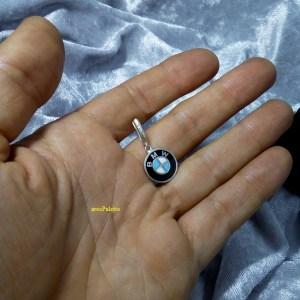 bmw silver earring