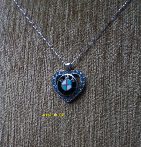 bmw necklace bmw blue love necklace 6