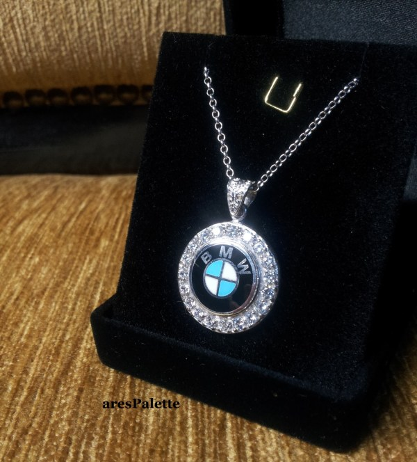 Bmw Swarovski Necklace