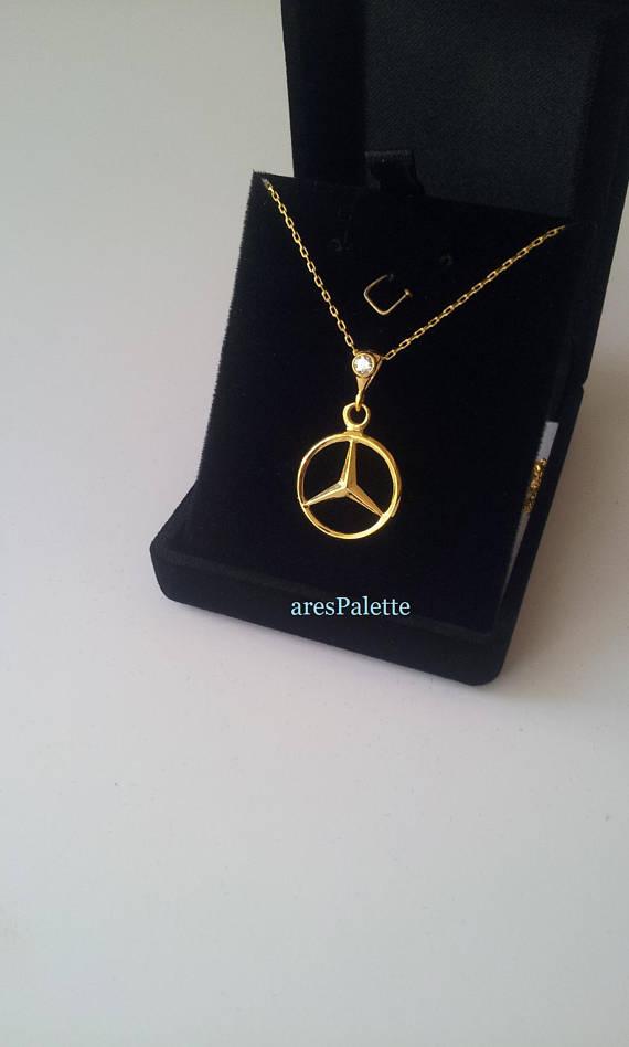 Mercedes Benz Necklace