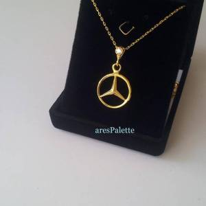 Mercedes Benz Necklace