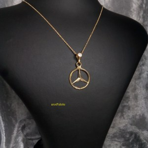 Mercedes Yellow Gold Edition Necklace