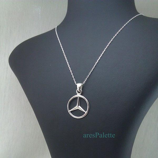 mercedes benz necklace mercedes halskette 3