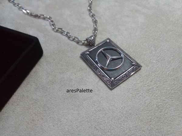 mercedes benz necklace mercedes benz jewelry car jewelry onix stone 6