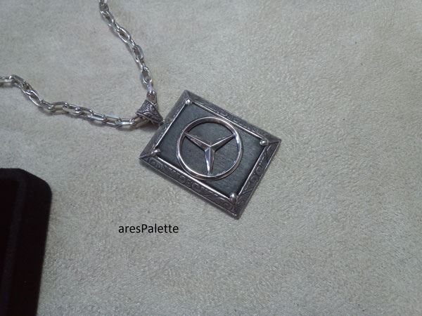 mercedes benz necklace mercedes benz jewelry car jewelry onix stone 7