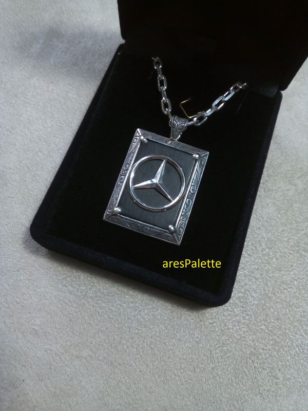 mercedes benz necklace mercedes benz jewelry car jewelry onix stone 8