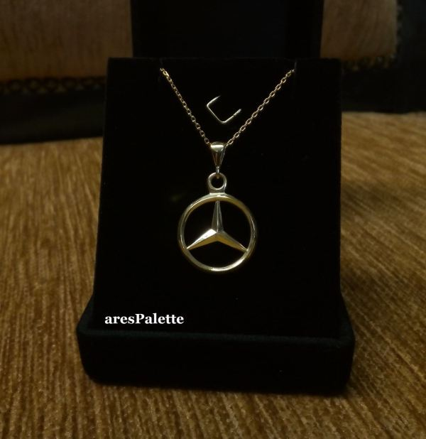 mercedes benz necklace mercedes jewelry 3 min