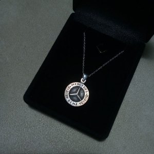 Mercedes Silver Necklace