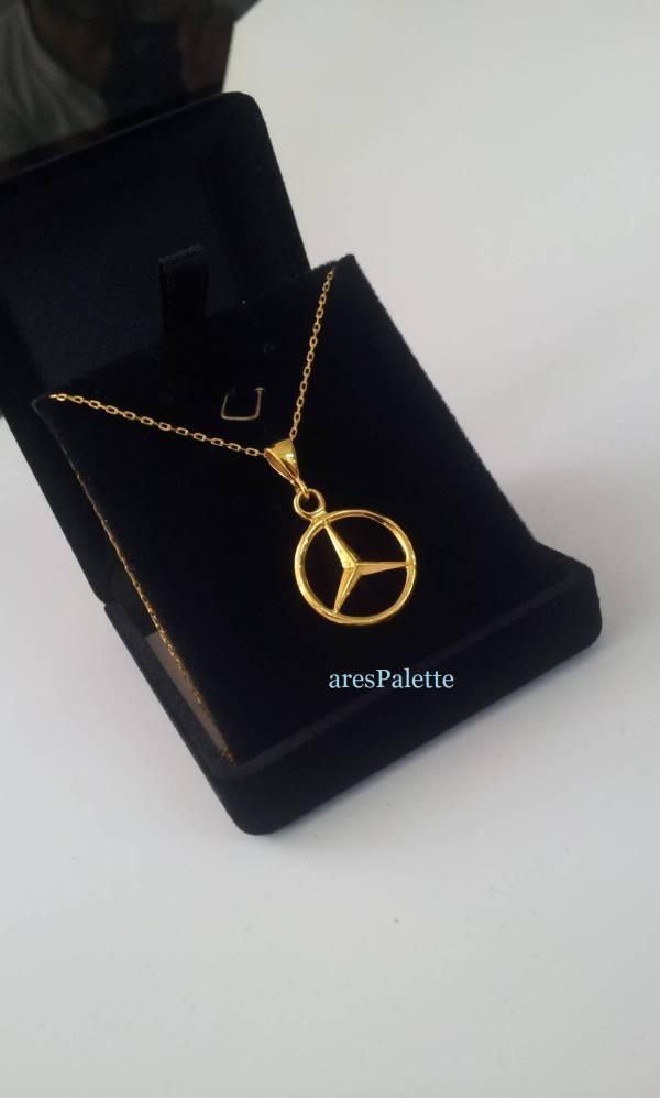 mercedess benz necklace.16