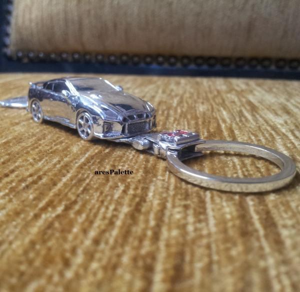 Nissan GTR Keychain