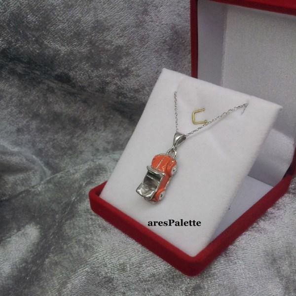 Beetle Cabriolet Necklace