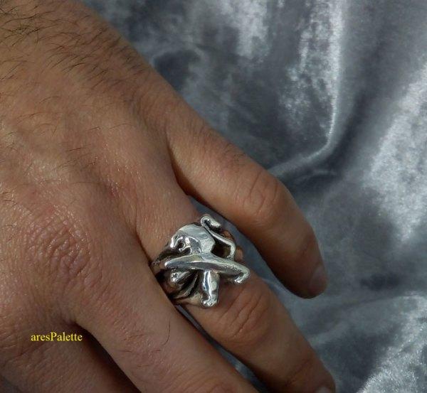 peugeot ring men ring peugeot logo car jewelry 2