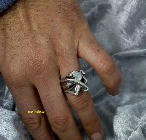 peugeot ring men ring peugeot logo car jewelry 4