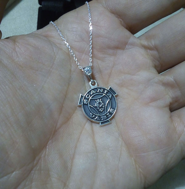 scania necklace scania collier arespalette 3