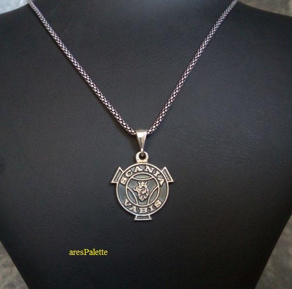 scania vabis necklace   vabis pendant  car jewelry  arespalette 1
