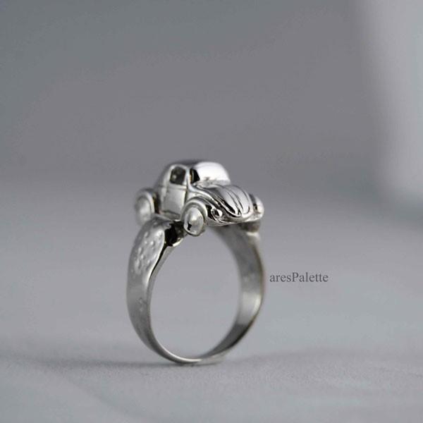 volkswagen ring vw ring vw jewellery beetle ring volkswagen 4