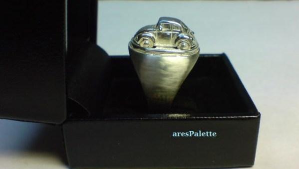vw beetle customized ring 925 14