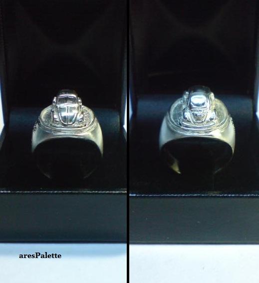 vw beetle customized ring 925 23
