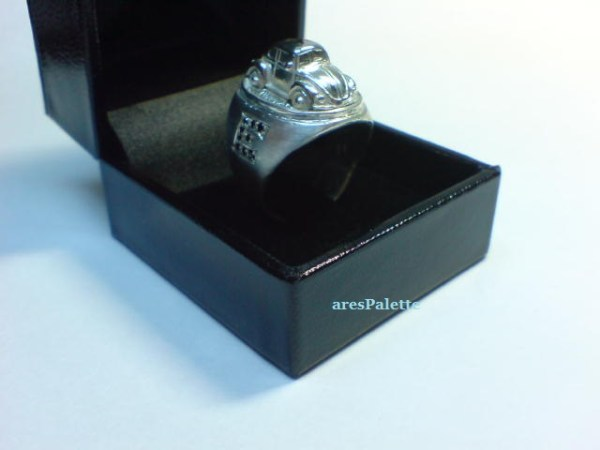 vw beetle customized ring 925 26