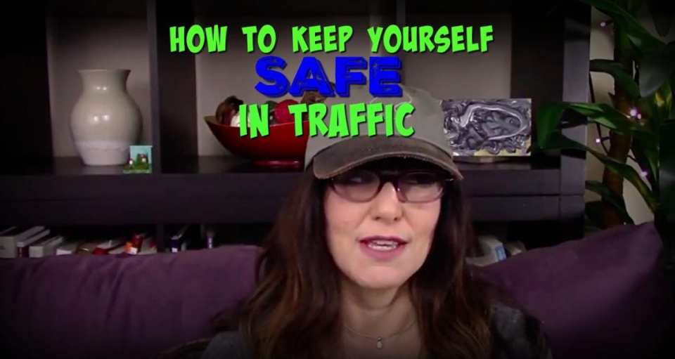 protect yourself in traffic