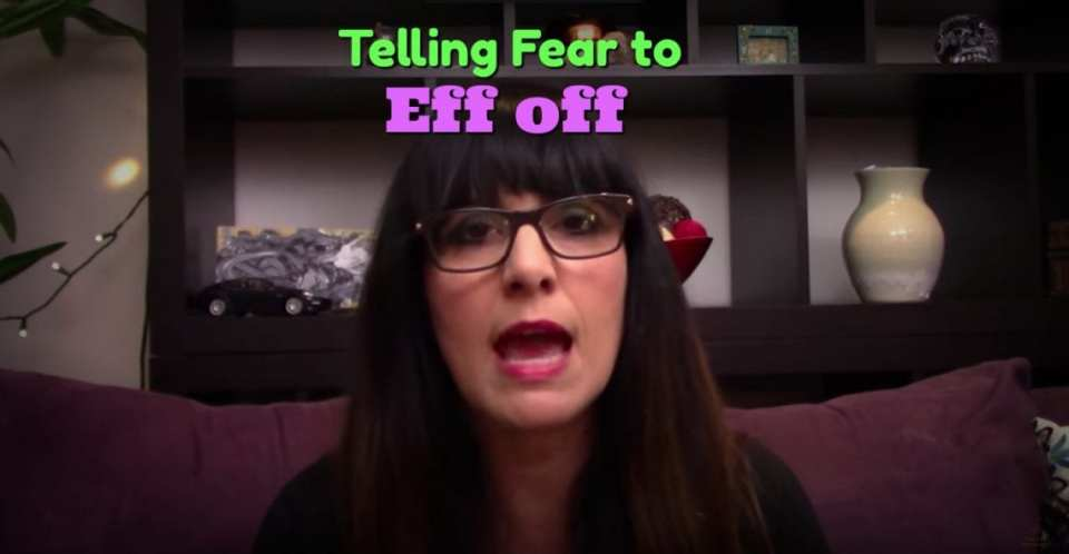 Telling Fear to Eff Off - Are You Awakening