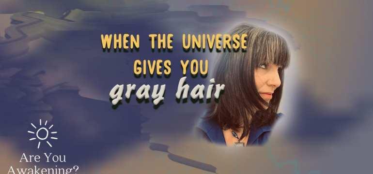 gray hair and karma