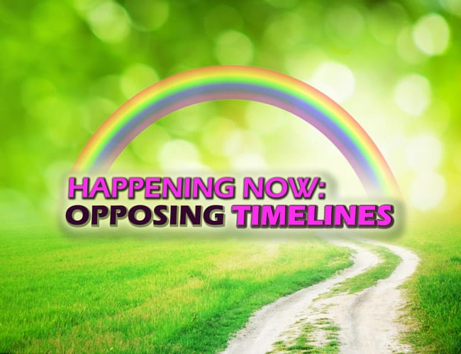 Video: Happening Now: Opposing Timelines