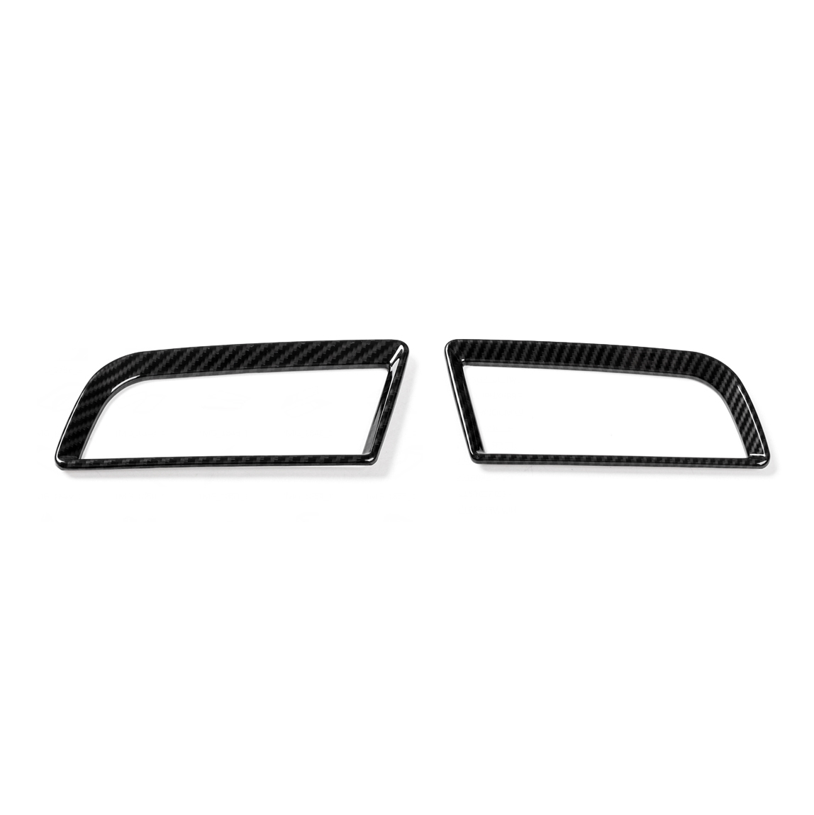 Abs Dashboard Side Air Condition Vent Cover Ring Trim For
