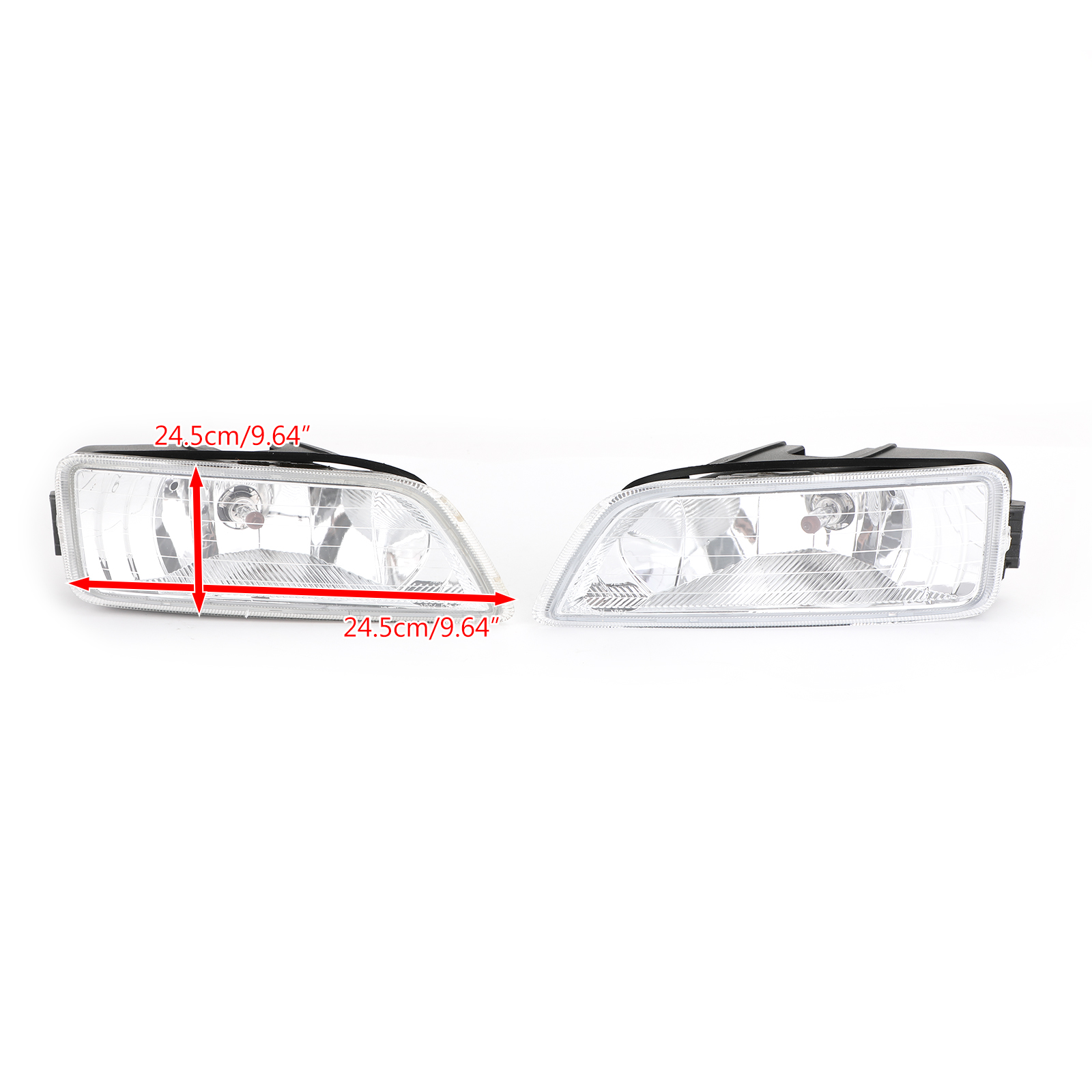 Front Bumper Fog Driving Light Assembly Fit Honda Accord