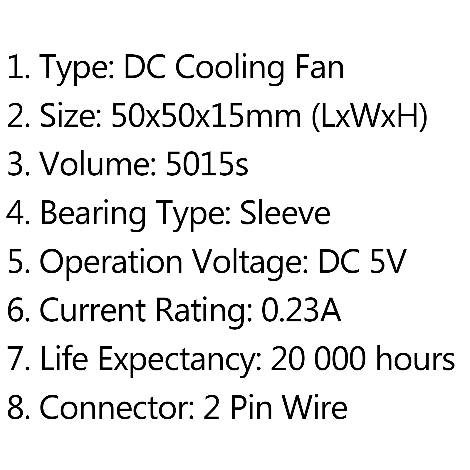 Dc Brushless Cooling Pc Computer Fan 5v 12v 24v S