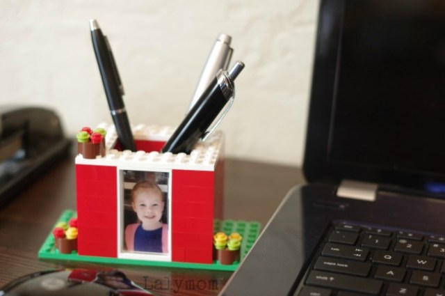 Phot-Gifts-for-Mom-Kid-Made-LEGO-Pen-Holder