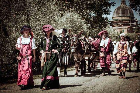 Scannagallo - Rievocazioni storiche