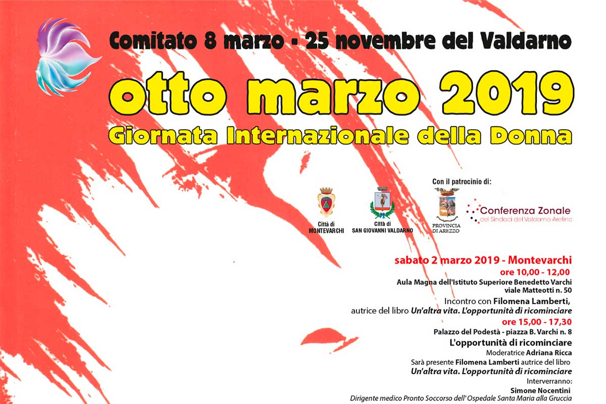 8 Marzo 2019: Giornata internazionale della donna ArezzoWeb
