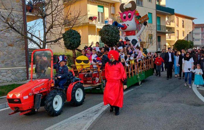 Carnevale a Castelnuovo dei Sabbioni