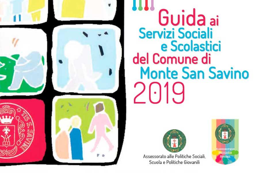 """b87a4ea4af83 E  in distribuzione da oggi la nuova """"Guida ai servizi sociali e scolastici""""  del Comune di Monte San Savino. Il piccolo volume sarà recapitato a tutti i  ..."""