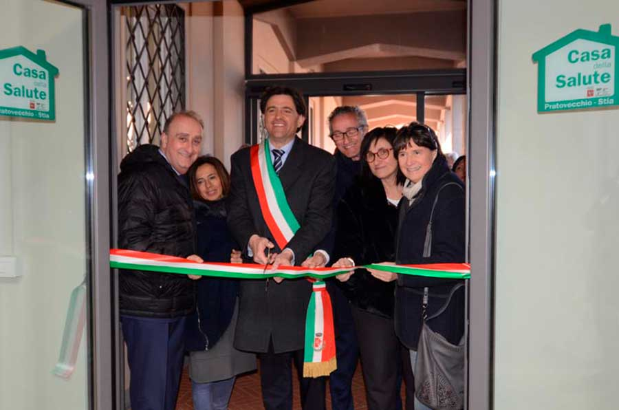Casa della Salute, inizia l'attività a Pratovecchio Stia