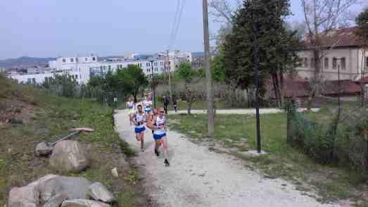 La testa della corsa dopo 2 km