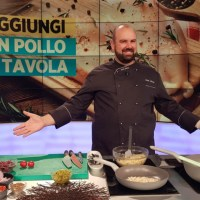 """Chef Shady porta la ricetta tutta aretina della pappa al pomodoro ad """"Uno mattina Estate"""""""