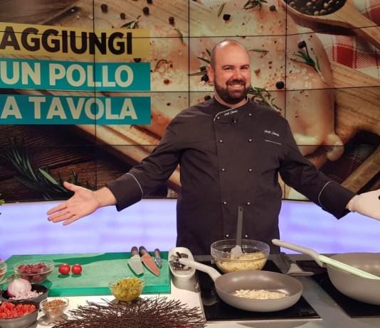 """Chef Shady porta la ricetta tutta aretina della pappa al pomodoro ad """"Unomattina Estate"""""""