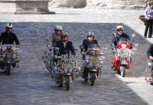 Raduno lambrette e moto d'epoca Arezzo Santuario Vertighe