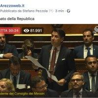 In diretta dal Senato della Republica sulla nostra pagina Facebook