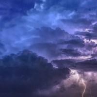 Maltempo, codice giallo per pioggia e temporali lunedì 23 settembre su tutta la Toscana