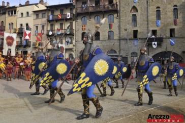 139ma Giostra del Saracino - Sfilata - 096