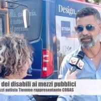 Accesso dei disabili ai mezzi pubblici ce ne parla Claudio Palazzi autista Tiemme e rappresentate Cobas