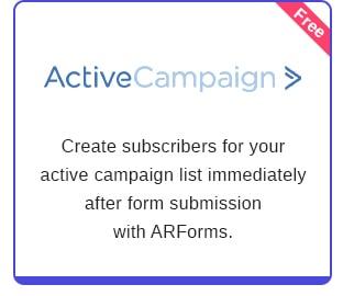 ARForms: WordPress Form Builder Plugin - 28