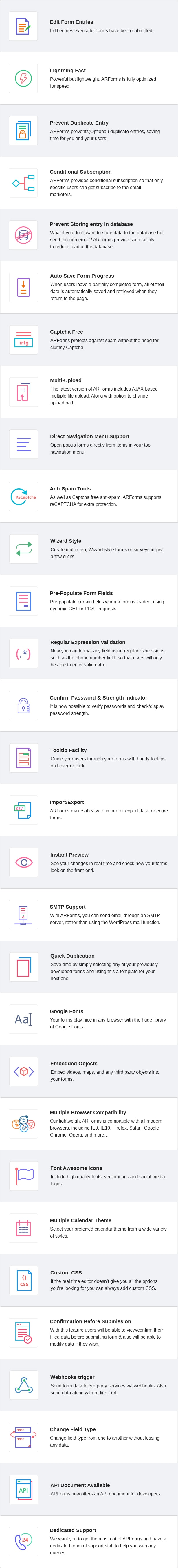 ARForms: WordPress Form Builder Plugin - 50