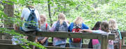 Fun in the outdoors with other freethinking kids!